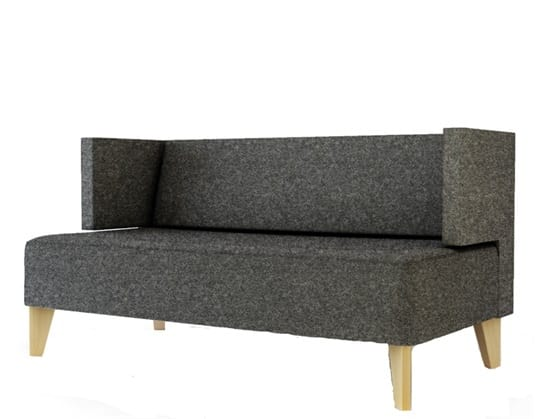 Urban 836S, Upholstered two-seater sofa