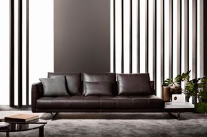 Valery, Sofa with large seats
