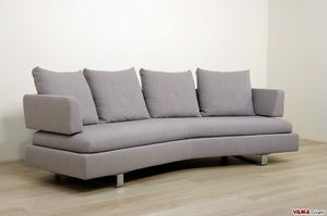Venere, A sofa with curved back completely removable