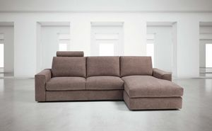 Vesuvio, Modular sofa, completely removable upholstery