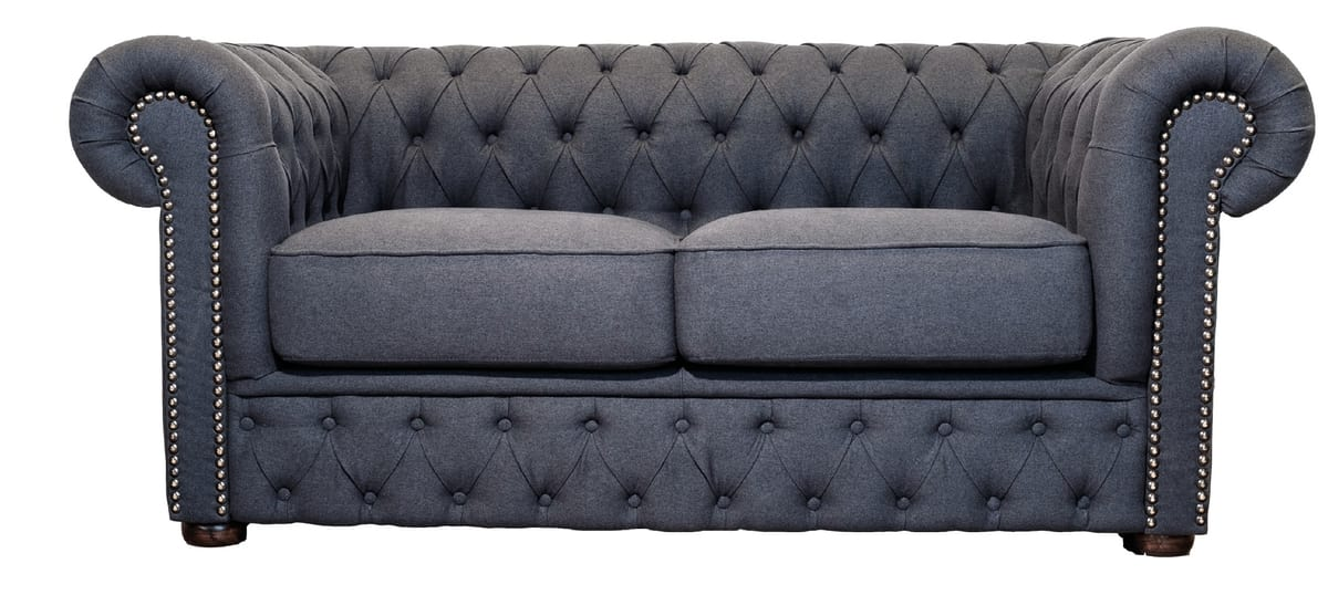 VICTORIA LOUNGE 2, Two-seater capitonnè sofa