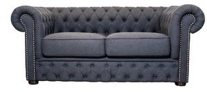 VICTORIA LOUNGE 2, Two-seater capitonn� sofa