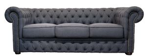 VICTORIA LOUNGE 3, 3-seater capitonn� sofa