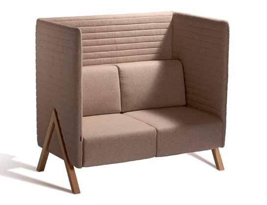 Vision 570SA, Two-seater sofa with high backrest