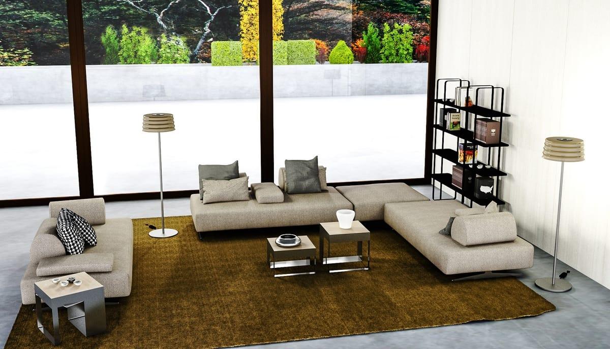 Polaris Designed For Living Srl modern modular sofa | idfdesign