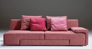 Zapping, Modern sofa with seat rotating, removable covering