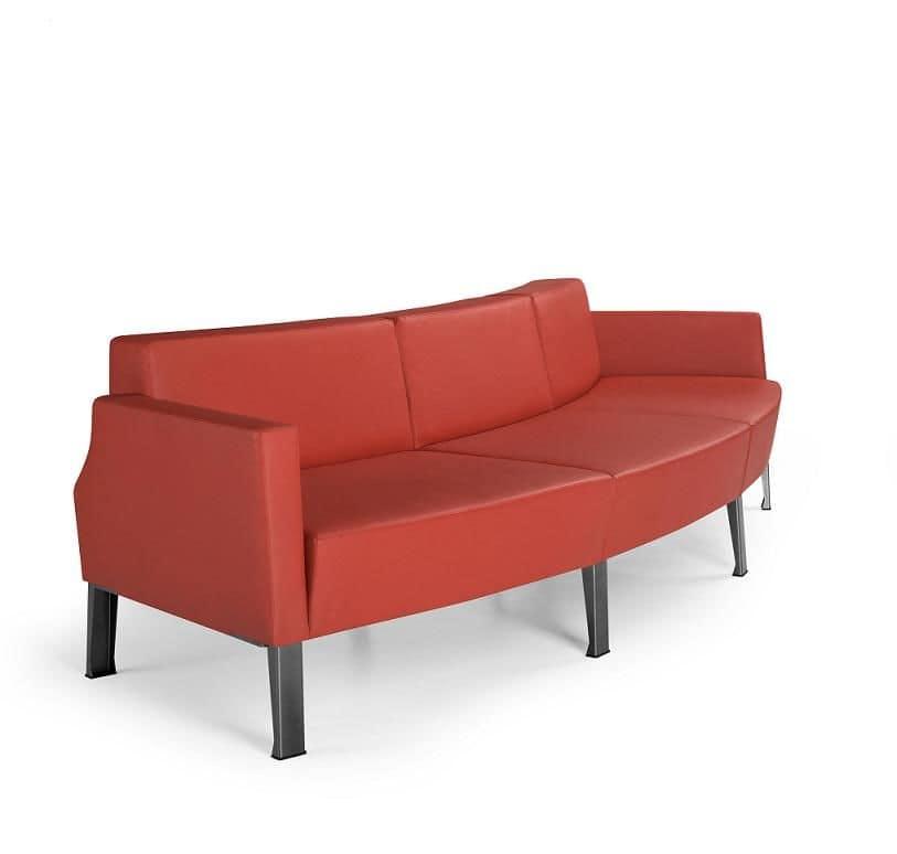 ZEN 731 - 739, Modern modular sofa ideal for waiting rooms