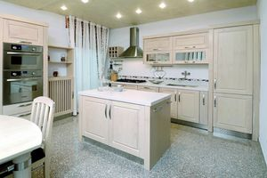 Al� kitchen 110, Kkitchen made of bleached ash wood