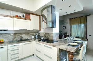 N�scira kitchen 100/A, Elegant kitchen with marble top