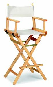 34-1 Regista, Folding stool in wood