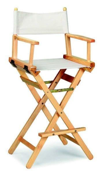 34-1 Regista, Folding stool in wood