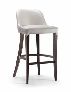 ALYSON BAR STOOL 048 SG, Padded stool for contract use