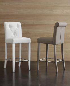 Art. 564 Billionaire stool, High quality soft touch ecoleather stool