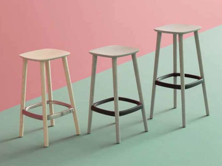 Babila-SG SGA, Wood stool without backrest