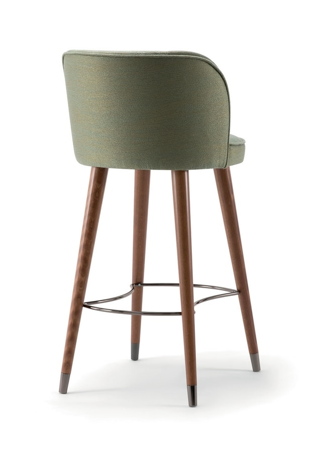 CANDY BAR STOOL 061 SG, Stool with enveloping lines