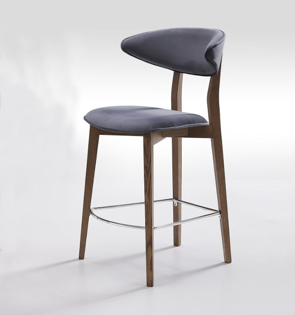Flare-SG, Stool with rounded back