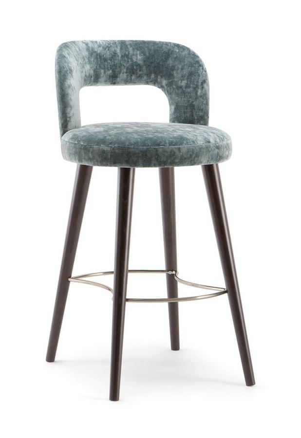 HOLLY BAR STOOL 065 SG, Soft shape stool