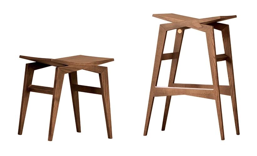 Icaro 5304/F, Wooden stool
