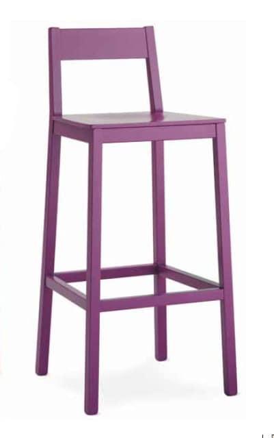 Ingrid-SG, Modern wooden stool