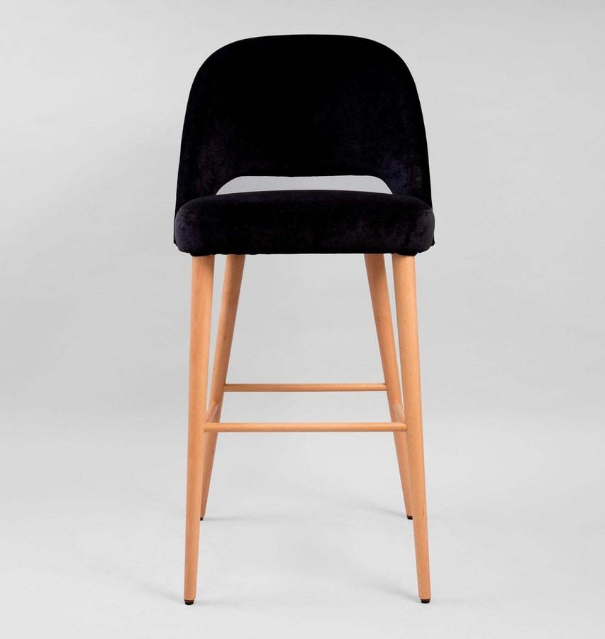 M32SG, Padded stool for restaurant