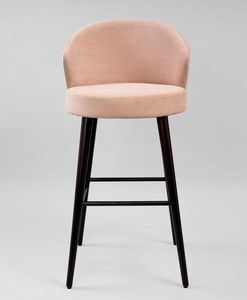 M38SG, Stool with upholstered seat and back