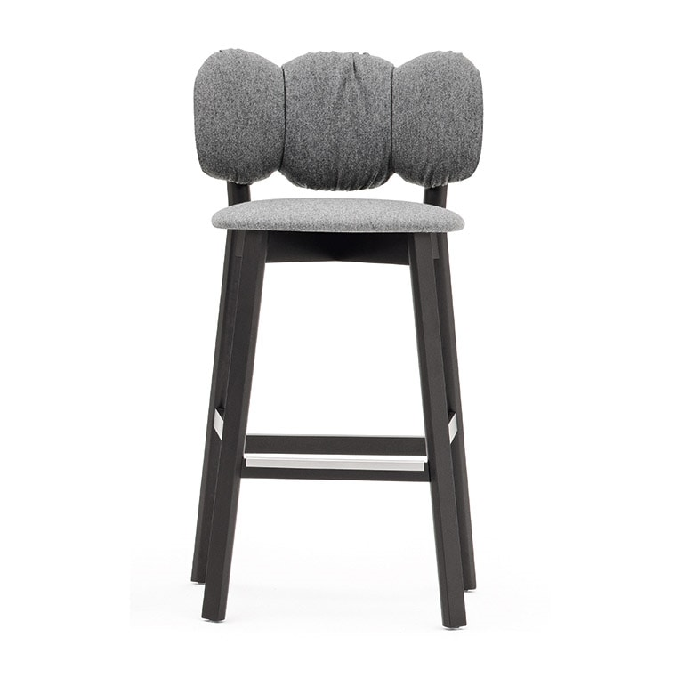 Mafleur 04283, Stool with upholstered seat and back
