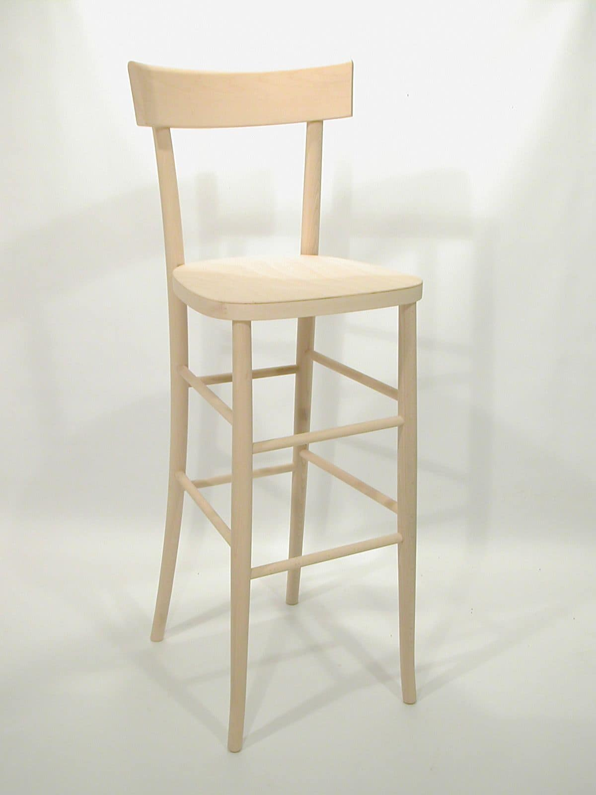 Milano barstool, Beech stool for pubs, bars and restaurants