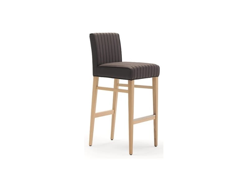 Milena-SG, Upholstered stool, for naval furniture