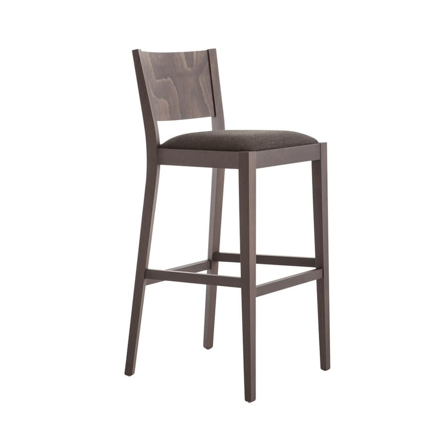 MP472DI, Stool with wooden backrest