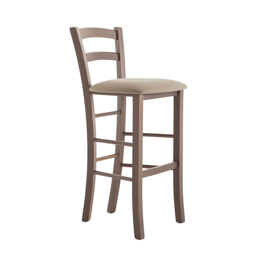 RP42AA h.75, Wooden stool for hotels