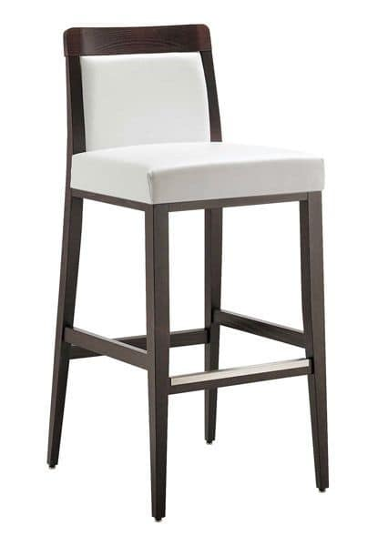 SG 49 / ei, Barstool with modern lines, ideal for Bar