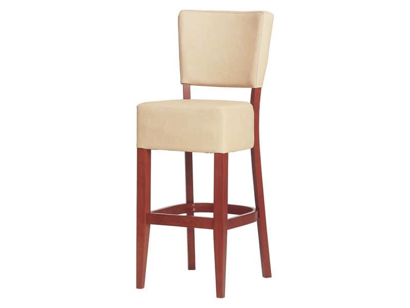 SG/Marsiglia/1, Upholstered stool for bars, hotels and restaurants