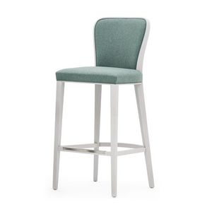 Wave 02781, Elegant barstool for hotel and restaurant counter