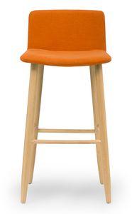 Web stool, Modern padded stool