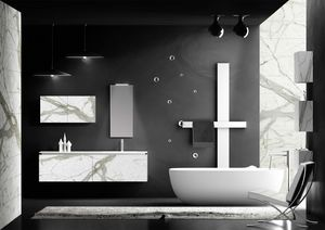 Plane Gr�s 03, Modular bathroom furniture in Gr�s
