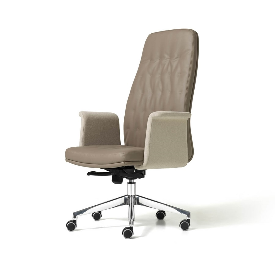 Artu, Office Executive chair with self-braking wheels