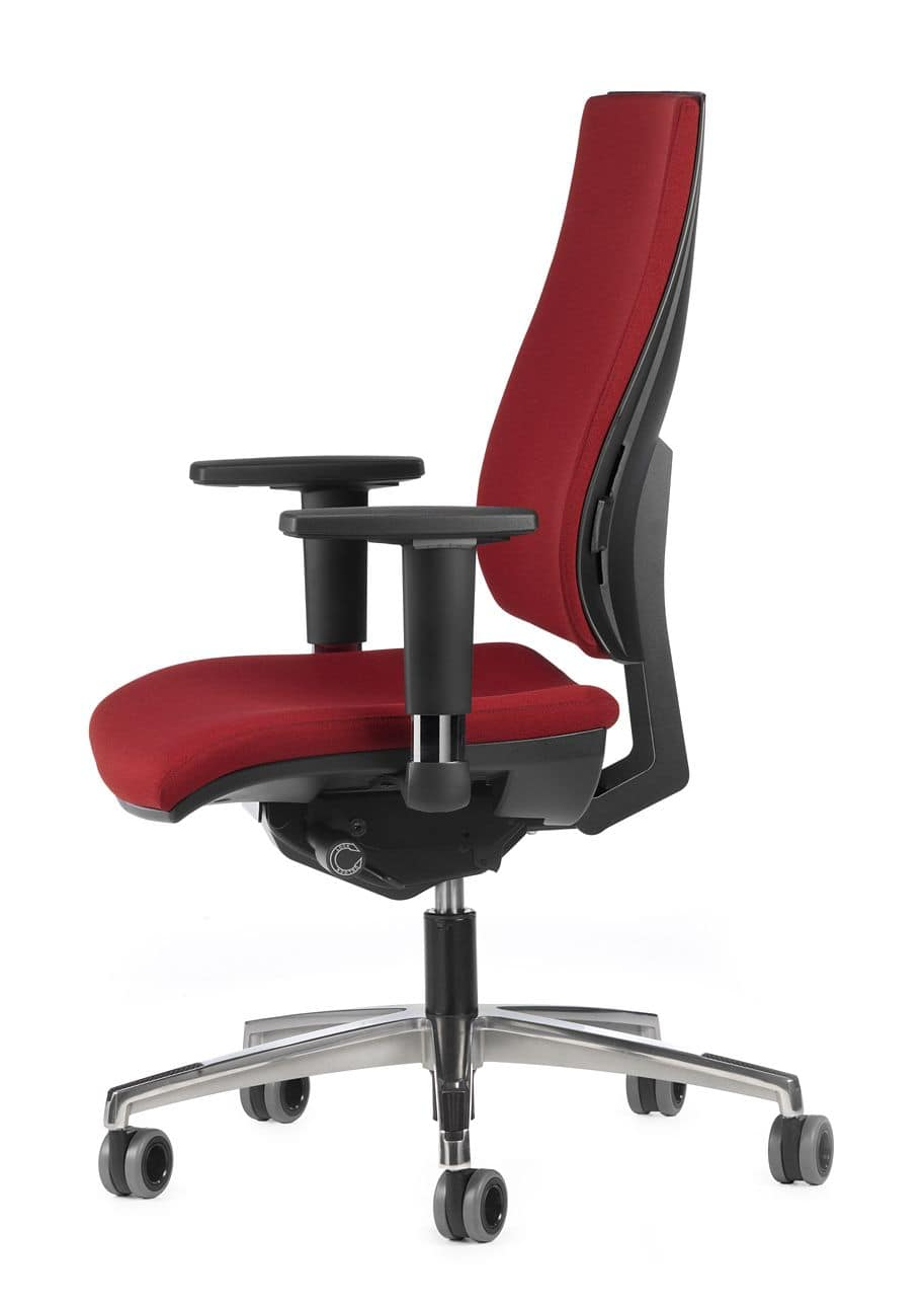 ALLY 1737 + OPT, Operational office chair with tilt mechanism