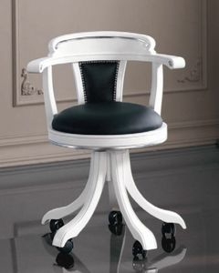 Art. 3240, Classic style chair on castors