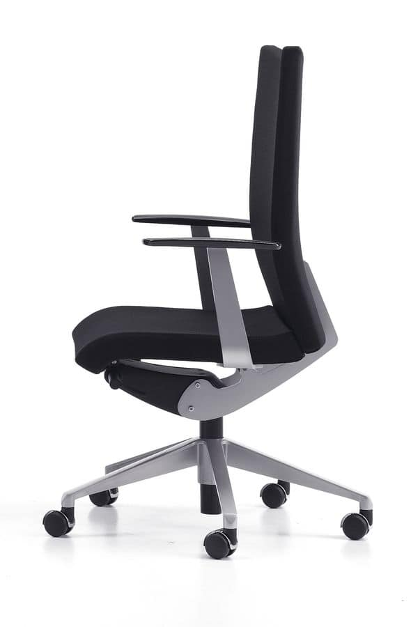 AVIAMID 3512, Operational office chair with armrests, gas lift