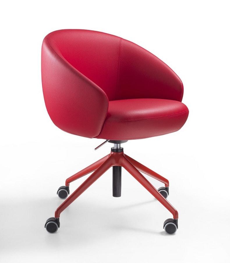 Botero Mignon, Enveloping office armchair