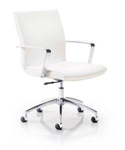 Calypso 7301, Padded office chair, on chrome castors