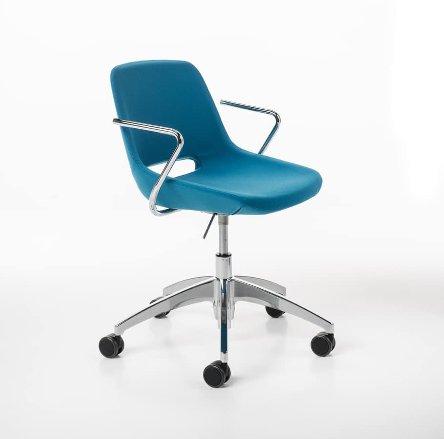 Clea gas, Home office chair with castors