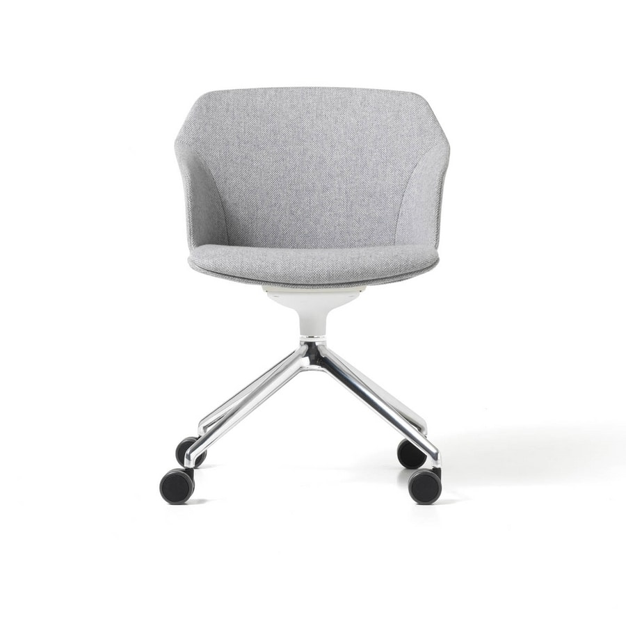 Clop wheels imb, Visitor chair on wheels