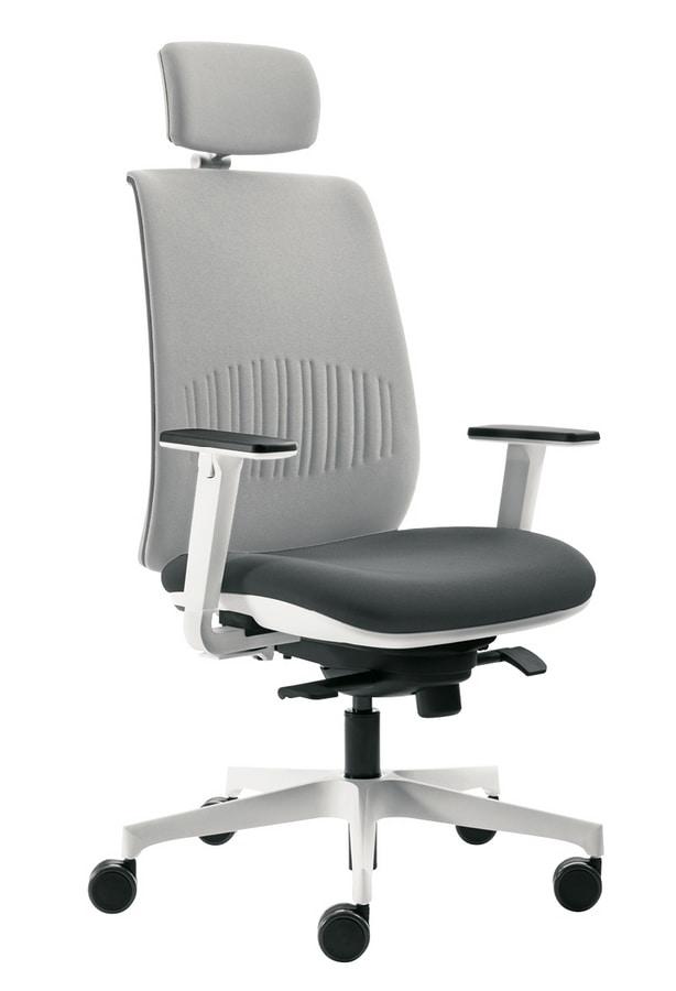 Cobra Air, Task chair with headrest