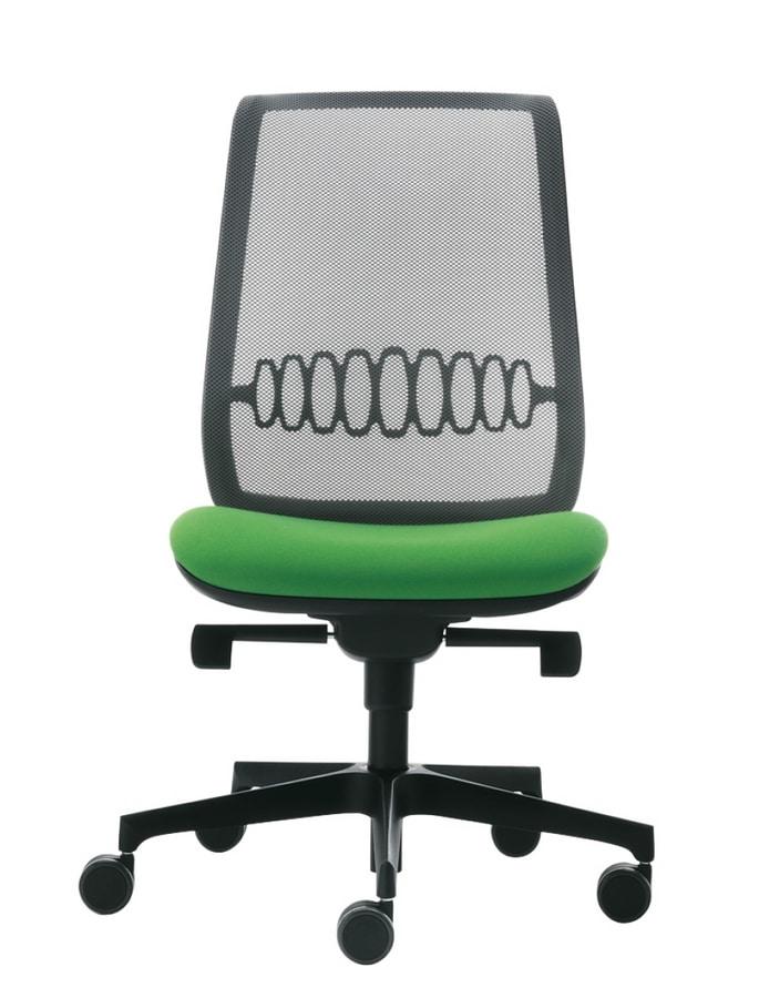 Cobra Rete, Task chair with mesh back