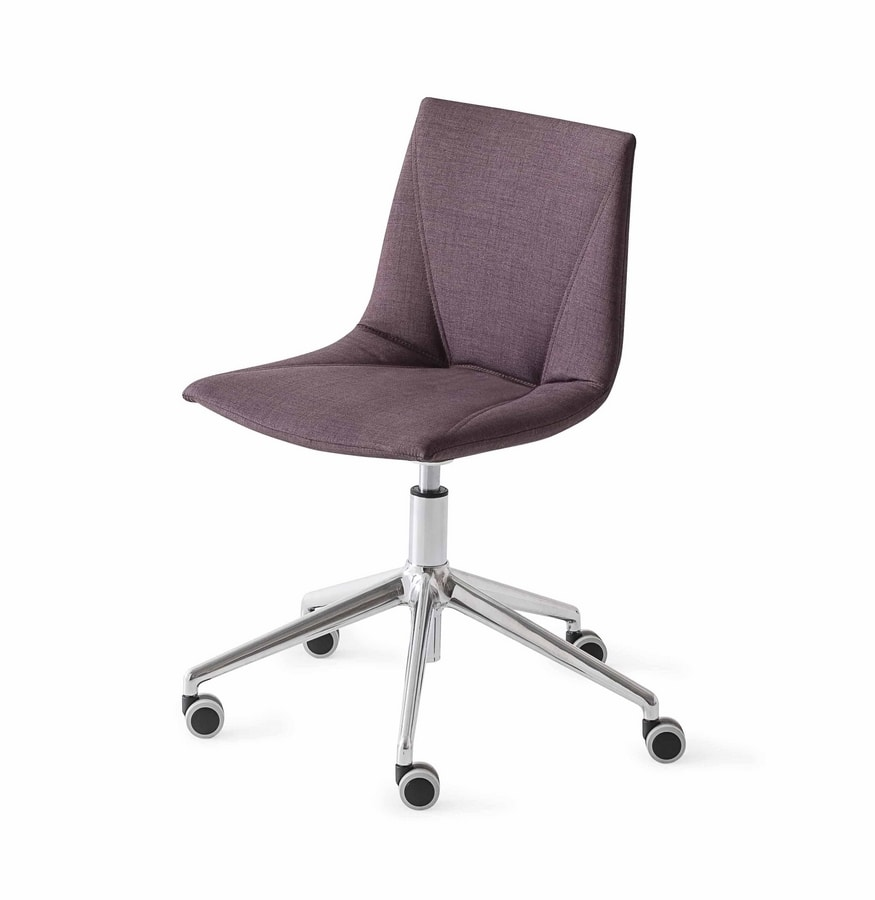 Colorfive WRAP 5R, Upholstered chair on wheels