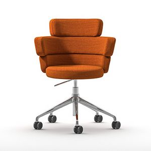 Dam XL HO, Swivel armchair on wheels