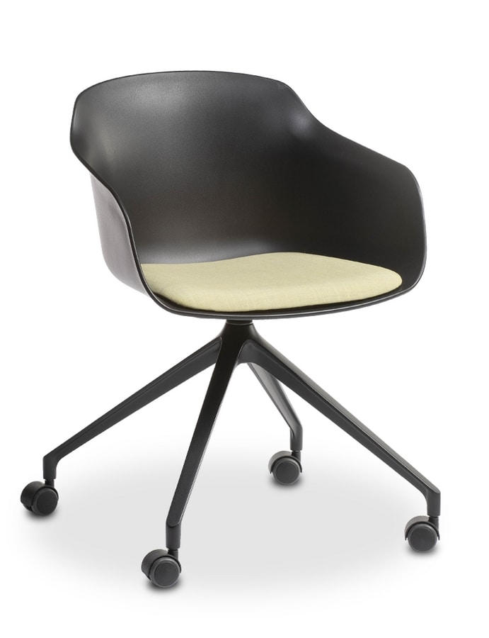 Dame UR, Chair on castors