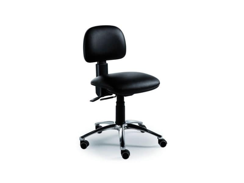 Dattilus task 5805, Operational office chair without armrests, upholstered