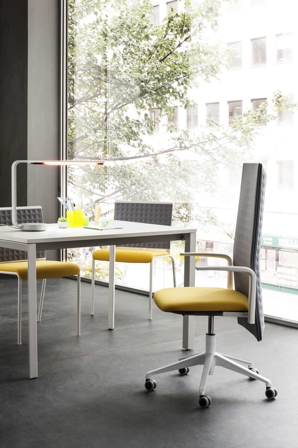 Elodie Task 05R, Task chair for office, sound-absorbing